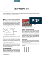 Induction Motor Rotor Bars