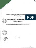Mof-municipalidad Hualgayoc Bambamarca