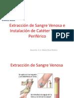 Clase 14 Extraccion de Sangre e Instalacion de Cvp