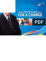 Put New Brunswick First … For a Change