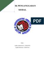 Teknik Penganggaran Modal_KLMPK 7