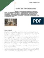 Inspeccion de Torres de Comunicaciones