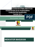 Presentasi Phbs Inst Kes