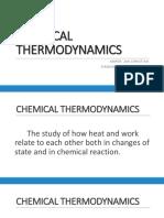 Chemical Thermodynamics1