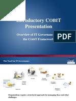 Cobit Introduction