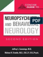 Neuropsychiatry and Behavioral Neurology 2ed Edition