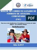 Modelo de Llenado Facs Andahuaylas