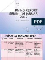 Morning Report Senin 16 Jan 2017