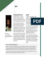 Abhishek Thakore - Profile
