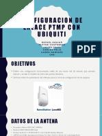 Configuracion de Enlace Ptmp Con Ubiquiti