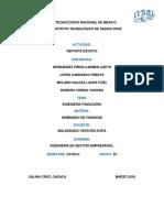 Reporte de Finanzas