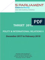 Target 2018 Polity IR II Www.iasparliament.com