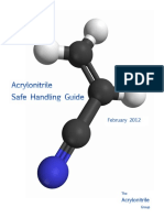 Guideline for the Safe Handling and Distribution of Acrylonitrile