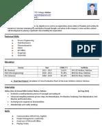 Faisal_Process Graduate CV