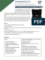 TIPL Ultrasonic Flowmeter