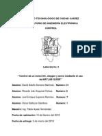 LABORATORIO 3 CONTROL DE UN MOTOR A PASOS, DC Y SERVO CON MATLAB