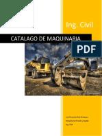 Catalago de Maquinaria