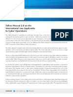CCDCOE Tallinn Manual Onepager Web