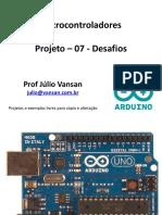 Arduino Projeto 07 Desafios