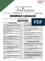 Normas Legales Del Dia 11 de Marzo Del 2018