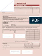 Ddpo Issuance Indus Form