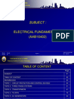 Presentation for Electrical Fundamental 2
