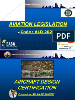 Aviation Legislation - Part 4 (Aircraft Design Certification)