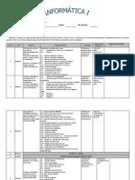 Planeacion de Informatica 1