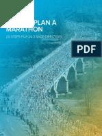 How to Plan a Marathon