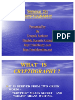 36901025 Cryptography