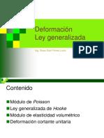 Deformación Ley Generalizada