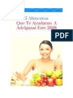 5-Alimentos Que Te Haran Bajar de Peso 2018
