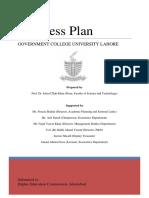 g Cu Business Plan