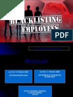 Blacklist Employee