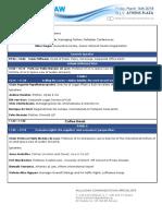 Travel Law Forum 2018 - Πρόγραμμα