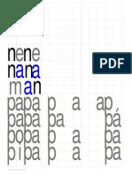 PAPEPIPOPU y naneninonu