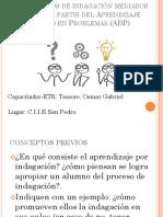 Los Procesos de Indagación Mediados Por TIC a Partir Del Aprendizaje Basado en Problemas (ABP)