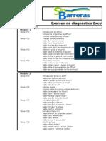 Examen de Diagnostico Excel 2007