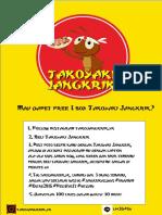 Takoyaki Jangkrik Promotion (Font Karate)