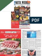 "Kuta Weekly - Edition 579 ""Bali's Premier Weekly Newspaper"""