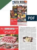 "Kuta Weekly - Edition 583 ""Bali's Premier Weekly Newspaper"""