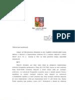 odpoved MV - vyjadreni k implementaci smernice EU o zbranich