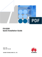 F01S200 Quick Installation Guide