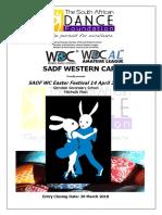 SADF WC Easter Festival Entry Form 14April18
