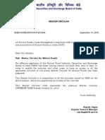 Sebi Mutual Fund Master Circular 2016