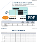 Panasonic KX-NS3000 System Specification