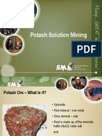 Potash Solution Mining All Grades