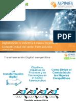 AEPIMIFA FARMAFORUM Digitalización e Industria 4.0 Para Mejorar La Competitividad Del Sector Farmacéutico v3