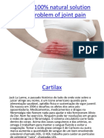 Cartilax - 100% natural solution to the problem of joint pain