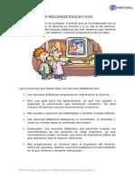 MÓDULO 1_LOS RECURSOS EDUCATIVOS